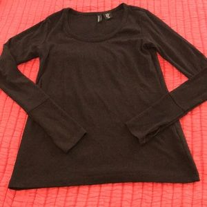 Cynthia Rowley black long sleeve